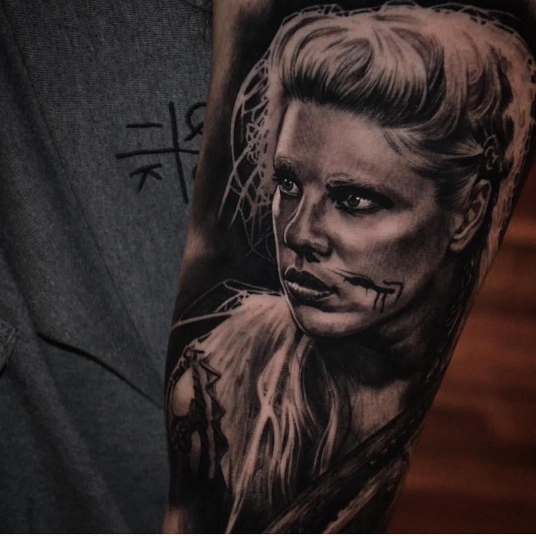 Vikings-Tattoo-by-Ben-Thomas