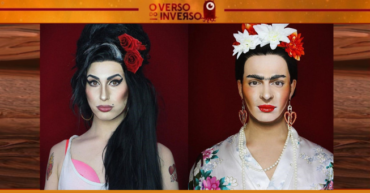 Drag Queen se transforma em famosos e bomba no Instagram